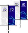 旗帜标示VI模板0112,旗帜标示VI模板,商业VI设计模板,