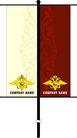旗帜标示VI模板0151,旗帜标示VI模板,商业VI设计模板,