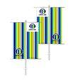 旗帜标示VI模板0153,旗帜标示VI模板,商业VI设计模板,