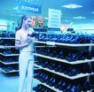 商业服务0054,商业服务,商业,鞋店 整齐的鞋子 选鞋