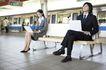 商业通勤0022,商业通勤,商业,列车 候车室 等车