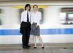 商业通勤0072,商业通勤,商业,地铁 等候 月台