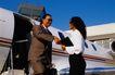 商旅生活0090,商旅生活,商业,飞机场 接待 客气