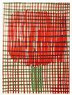 保罗考克斯作品0019,保罗考克斯作品,广告,玫瑰 涂鸦 花朵 桌布 图画