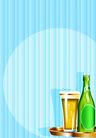 矢量背景素材0300,矢量背景素材,底纹,啤酒 泡沫 相聚