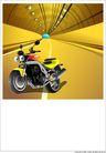 外界风景0216,外界风景,时尚卡通,摩托车 道路