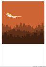外界风景0220,外界风景,时尚卡通,飞行工具 客机