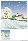 外界风景0241,外界风景,时尚卡通,下雪