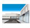 建筑风景0101,建筑风景,时尚卡通,房屋 建筑 道路