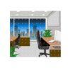 建筑风景0154,建筑风景,时尚卡通,办公环境 转椅 办公桌
