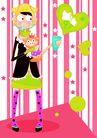 猪,恭贺庆典,时尚卡通,