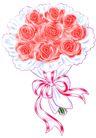 花束,恭贺庆典,时尚卡通,时尚 风格 花束