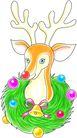 鹿,恭贺庆典,时尚卡通,