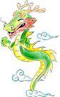 龙,恭贺庆典,时尚卡通,巨龙 龙王爷 龙头