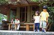 休息日家庭0022,休息日家庭,生活,木屋 野外 风景