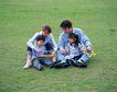 休息日家庭0048,休息日家庭,生活,坐在草地上