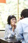 咖啡恋人0053,咖啡恋人,生活,茶馆 两个同事 开心交谈