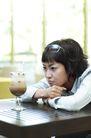 咖啡恋人0060,咖啡恋人,生活,四方桌 高脚杯 无聊等待