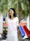 时尚购物0027,时尚购物,生活,打电话 休闲装 都市女性
