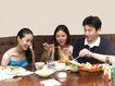 晚餐恋人0037,晚餐恋人,生活,好友 面条 餐具