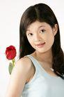 女人花0020,女人花,美容,宽肩 吊带 红玫瑰