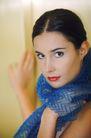 女性生活0055,女性生活,美容,异域装扮 纱巾 红唇