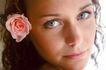女性生活0072,女性生活,美容,玫瑰 佩戴 头饰