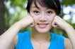 娇俏容颜0015,娇俏容颜,美容,呲牙 睁眼 精神 娴熟 朴素