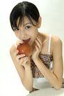 少女日记0019,少女日记,美容,苹果 品尝 味道 展示 张嘴