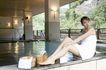 温泉休闲0024,温泉休闲,美容,细腿 肌肤 光滑