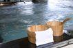 温泉休闲0027,温泉休闲,美容,木桶 毛巾 温泉