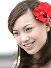 美丽SPA0005,美丽SPA,美容,红花 女人 甜蜜 微风 飘逸