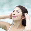 美丽SPA0014,美丽SPA,美容,游泳 泳装 局部 抬头 发梢