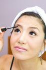 美容彩妆0017,美容彩妆,美容,夸张 浓密 耳环 美女 抬头