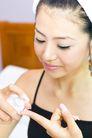 美容彩妆0020,美容彩妆,美容,指尖 涂抹 粉膏