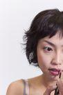美容彩妆0032,美容彩妆,美容,画唇线 右眼 嘴型