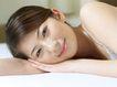美颜化妆0075,美颜化妆,美容,脸颊 斜靠 手臂