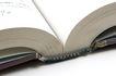 书籍0055,书籍,静物,翻开的书本 厚书 新书