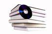 书籍0073,书籍,静物,光碟 侧立 书堆