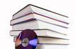 书籍0074,书籍,静物,电子书 蓝色 光碟