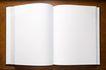 书籍0075,书籍,静物,翻开 空白 页面