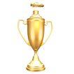 奖牌奖杯0038,奖牌奖杯,静物,金饰 静物 形状