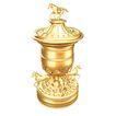 奖牌奖杯0040,奖牌奖杯,静物,设计 动物 马匹