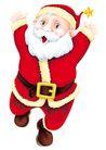 欢乐圣诞插画0005,欢乐圣诞插画,静物,欢快 腰带 大肚子 形象 人物
