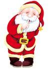 欢乐圣诞插画0007,欢乐圣诞插画,静物,嘘 小声 神秘 安静 请求