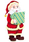 欢乐圣诞插画0008,欢乐圣诞插画,静物,派送 气氛 礼盒 动画 惊喜