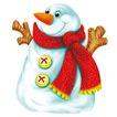 欢乐圣诞插画0023,欢乐圣诞插画,静物,续任 鼻子 衣服