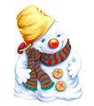 欢乐圣诞插画0024,欢乐圣诞插画,静物,冬天 雪景 美丽