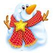欢乐圣诞插画0026,欢乐圣诞插画,静物,动物 卡通 漫画