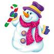 欢乐圣诞插画0028,欢乐圣诞插画,静物,围巾 卡通娃娃 帽子